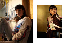 Edgy Adolescent Editorials - The Ones 2 Watch Ruff Ryder Image Series Features Normcore Sportswear