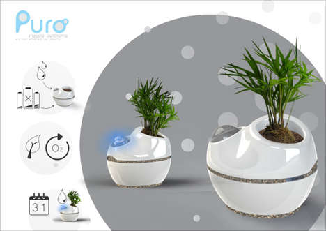 Autonomous Planters - This Self-Watering Planter is Perfect for Forgetful Users