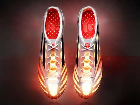12fa2bf3934430 99 Gram Soccer Shoes - The adizero 99g is the Lightest Soccer Boot Ever  Created
