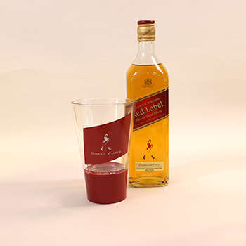 Musical Whiskey Glasses - Johnnie Walker's Smart Glass Enhances Whiskey Drinking with Sound