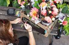 Mobile Florist Services - The Uprooted Flower Truck is a Full-Service Florist on Wheels