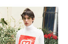 Eccentric Androgyny Portraits - The Rue Simon Le Franc Editorial Boasts Artistic Menswear Staples