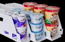 Adjustable Merchandising Trays - These Convenient Accessories Are Designed for Yogurt Retail Dispays