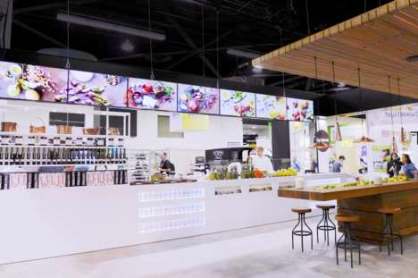 Immersive Dairy Displays - Chobani Natural Greek Yogurt Creates an Intimate Space for Consumers