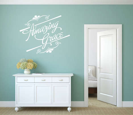 Religious Wall Decals - Etsy Shop WeAreVinylDesigns Creates Modern Bible Decor for the Home