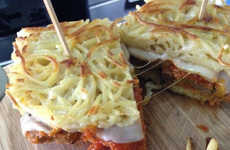 Spaghetti Meatball Sandwiches - The Delightful Spaghetti and Meatballwich is Pasta in Sandwich Form