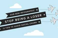 Follower-Retaining Advice - This Infographic Offers Tips on How to Keep Followers on Social Media
