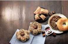 Chocolate Donut Collaborations - The Tim Hortons Nutella Series is a Limited-Time Only Offer