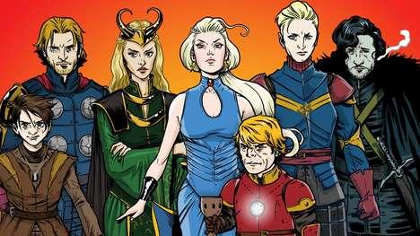 Fantasy Superhero Mashups