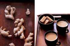 Ginger Chai Recipes - This Authentic Indian Tea is Made With Milk and Cardamom