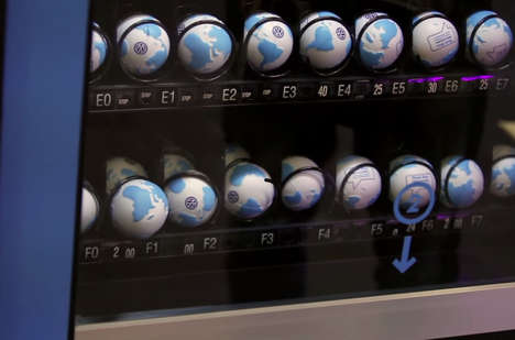 Eco Vending Machines - Volkswagen's Think Blue Vending Machine Accepts Old Batteries As Payment