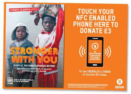 Touchless Donation Posters