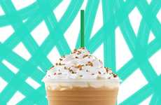 Campfire Coffee Treats - The S'mores Frappuccino From Starbucks Will be Available for a Limited Time