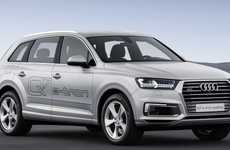 Sleek Hybrid SUVs - The Audi Q7 Hybrid is Targeted Towards the Chinese Auto Market