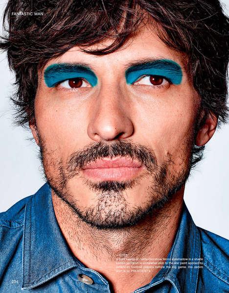 Androgynous Makeup Editorials