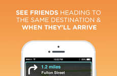 Real-Time Commuter Apps - Waze Shares GPS, Map and Traffic Data With Multiple Users