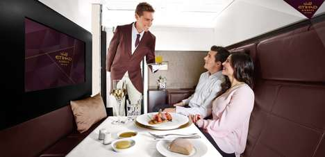 Luxe Flight Services - The Etihad Residences Class Mimics Expensive Hotel Accomodations