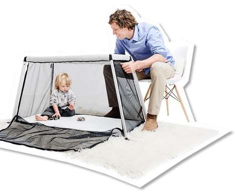 Portable Baby Cots - Phil & Teds' Traveller Tent Doubles as a Playpen for Infants and Toddlers