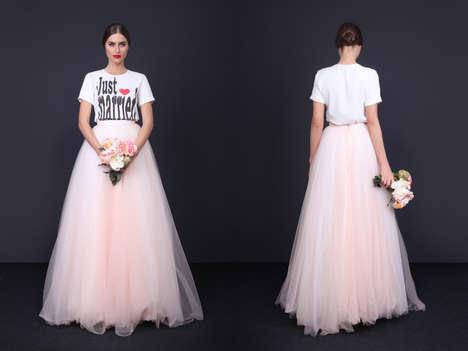 Edgy Bridal Fashion