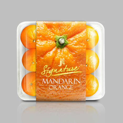 Citrusy Produce Packaging