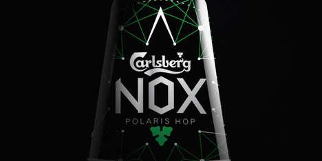 Nighttime-Inspired Beer Designs