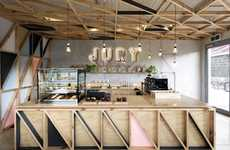Renovated Prison Cafes - The Jury Cafe Boasts Sustainable Design Details and Vivid Signage
