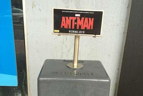 Miniature Movie Billboards