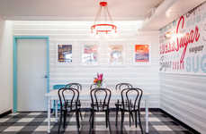 Retro Bakery Interiors - The New Sugar Mama's Bakeshop Location is Infused with Nostalgia