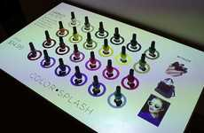 Musical Nail Polish Displays