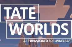 Art History Gaming Apps - The Tate Worlds App is Minecraft from an Art History Perspective