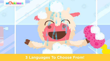 Multilingual Youth Games - Monki Home Teaches Language for Kids with Familiar Scenarios