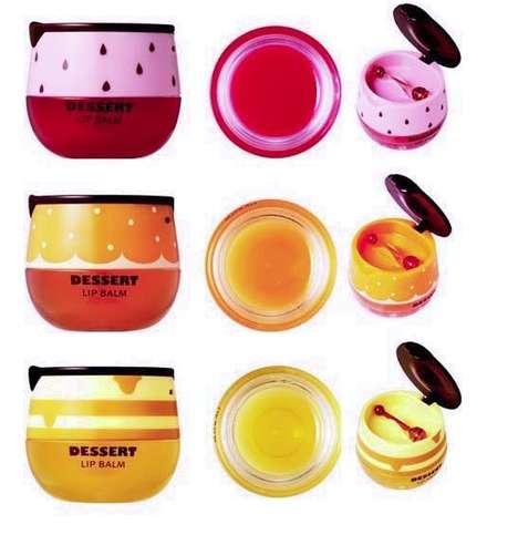 Dessert Lip Balm Branding