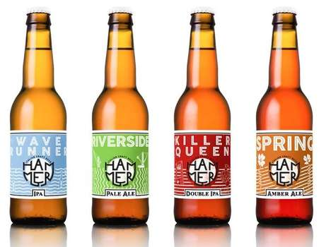 Industrial Beer Branding