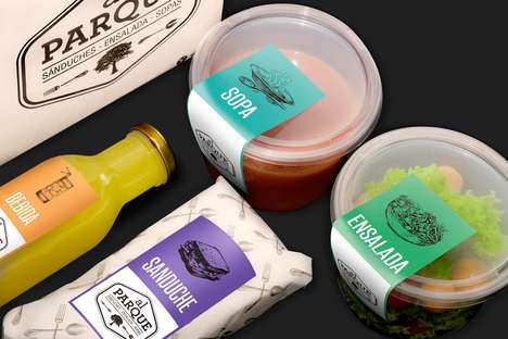 Eco-Friendly Takeout Packaging - This Sustainable Food Packaging is Perfect for a Picnic