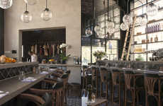 Antiquated Restaurant Interiors - This Ghent Restaurant Boasts an Understated Yet Worldly Decor