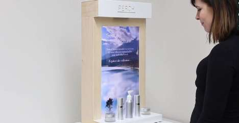 Storytelling Skincare Displays