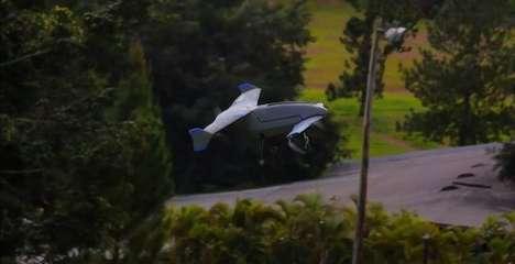 Hybrid Flight Drones
