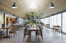 Countryside Cookery Interiors - This Restaurant and Cookery School Features a Contemporary Feel