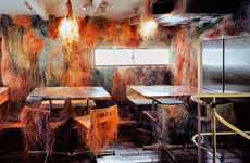 Decaying Restaurant Decor