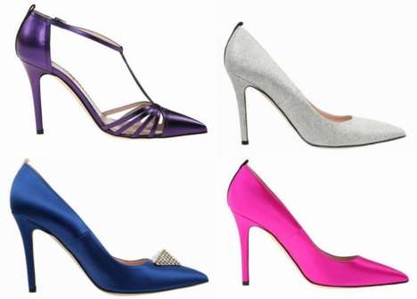 Chic Sin City Heels - This Sarah Jessica Parker Shoe Collection Celebrates Las Vegas Glamor