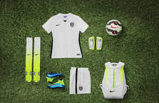 Eco Tournament Uniforms - Nike Women's Soccer Collection is Made Using Recycled Plastic Bottles