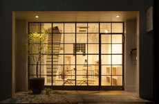 Japanese Gallery Facades - Tokyo's Kumu Art Space Features Traditional and Handcrafted Works