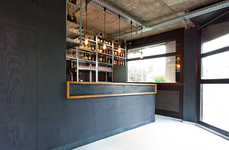 Tiny Understated Bars - The Simplistic Chez Bar in Germany is Extremely Small in Size