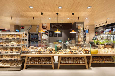Fresh Market Grocers - This Gourmet Supermarket Design Takes Shoppers on a Culinary Journey