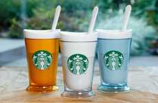 Beverage-Chilling Tumblers - Starbucks Japan's Frozen Drink Makers Recreate Chilled Drinks at Home