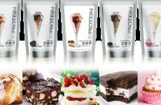 Healthy Dessert Milkshakes - Protein Milkshake Bar Offers a Range of Nutritious Dairy Treats