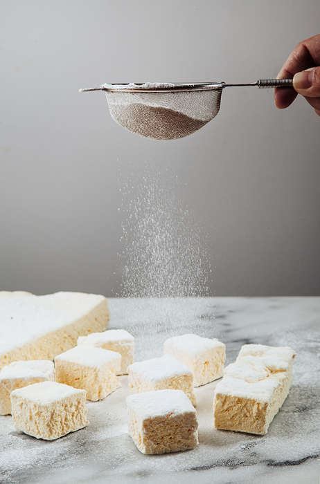 Savory Yogurt Marshmallows