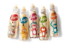 Vibrant Beverage Packaging - The Jupik Beverage Packaging Targets Young Children