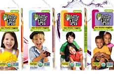 Kid-Friendly Tea Drinks - Little Me Tea Offers a Healthy Beverage Alternative to Juice