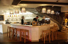 Iconic Department Store Cafes - Cafe Cuillier Inside Galleries Lafayette is Perfectly Parisian